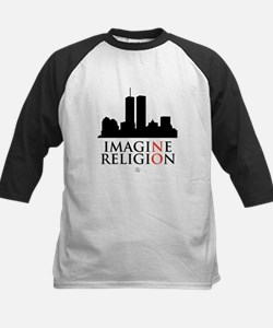 Imagine No Religion Kids Baseball Jersey