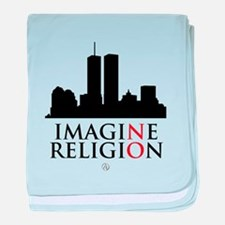 Imagine No Religion baby blanket