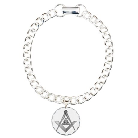 Mason Illuminati Charm Bracelet, One Charm