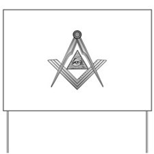 Mason Illuminati Yard Sign
