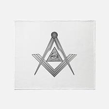 Mason Illuminati Throw Blanket