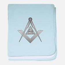 Mason Illuminati baby blanket