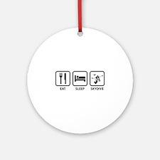 Eat Sleep Skydive Ornament (Round)