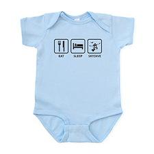 Eat Sleep Skydive Infant Bodysuit