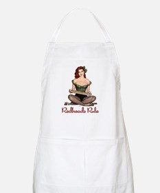 Redheads Rule BBQ Apron