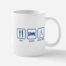 Eat Sleep Star Trek Mug