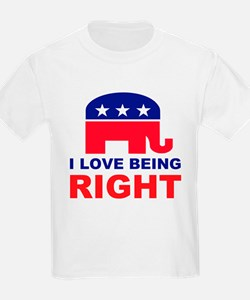 Romney Always right.png T-Shirt