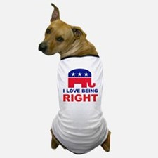 Romney Always right.png Dog T-Shirt