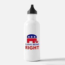 Romney Always right.png Water Bottle