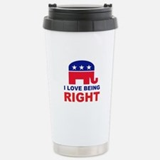 Romney Always right.png Stainless Steel Travel Mug