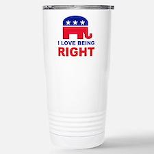 Romney Always right.png Travel Mug