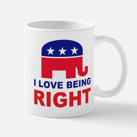 Romney Always right.png Mug