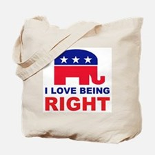 Romney Always right.png Tote Bag