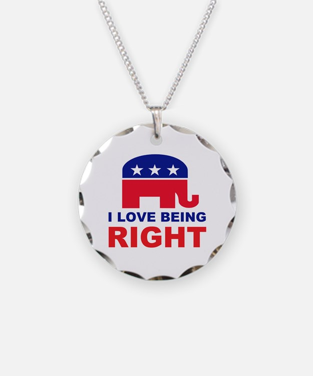 Romney Always right.png Necklace