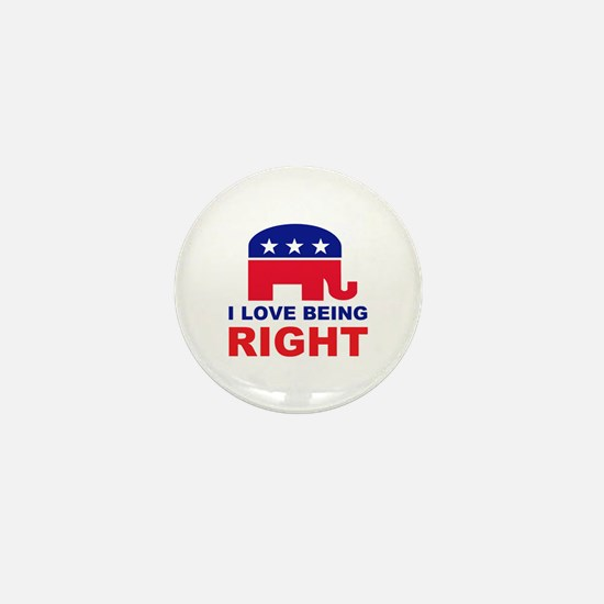 Romney Always right.png Mini Button