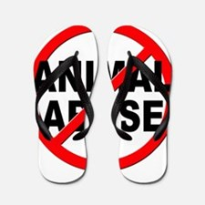 Anti / No Animal Abuse Flip Flops