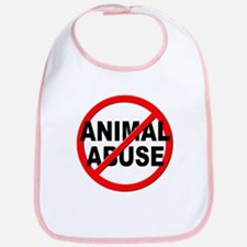 Anti / No Animal Abuse Bib