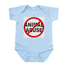 Anti / No Animal Abuse Onesie