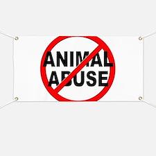 Anti / No Animal Abuse Banner