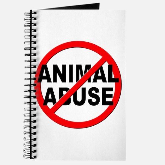 Anti / No Animal Abuse Journal