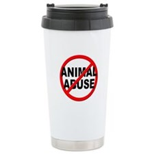 Anti / No Animal Abuse Travel Mug