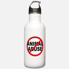 Anti / No Animal Abuse Water Bottle