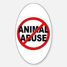 Anti / No Animal Abuse Decal