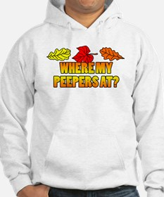 Where My Peepers At Hoodie Sweatshirt