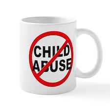 Anti / No Child Abuse Mug
