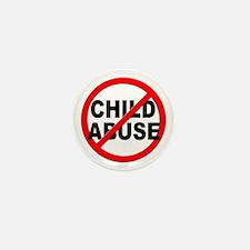 Anti / No Child Abuse Mini Button (100 pack)