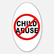 Anti / No Child Abuse Decal