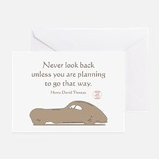 NEVER LOOK BACK Greeting Cards (Pk of 10)