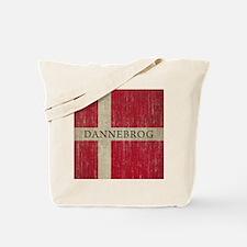 Vintage Dannebrog Tote Bag