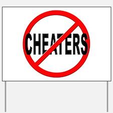 Cheating Yard Signs   Custom Yard & Lawn Signs - CafePress