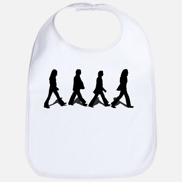 Zebra Crossing Bib