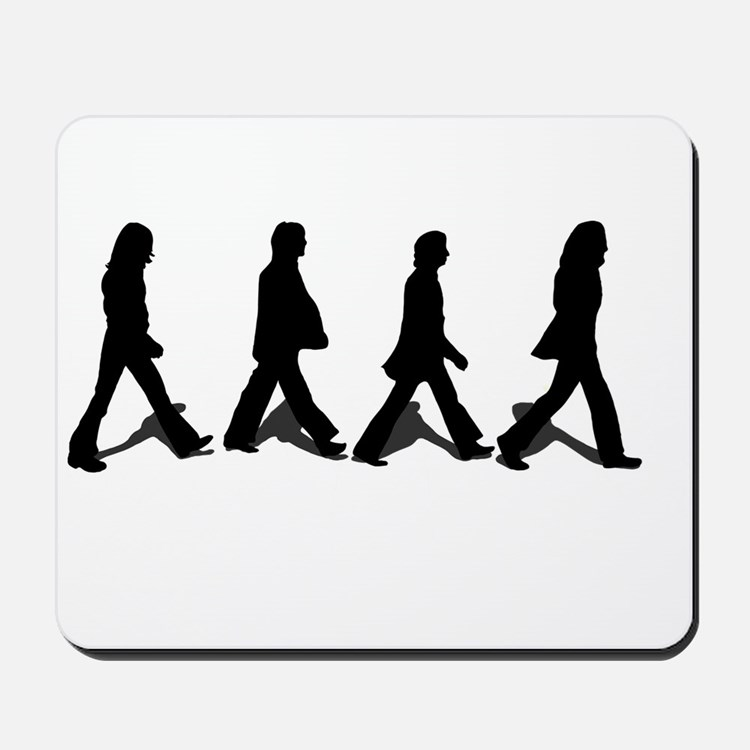 Zebra Crossing Mousepad