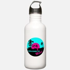 Welcome to Miami Water Bottle