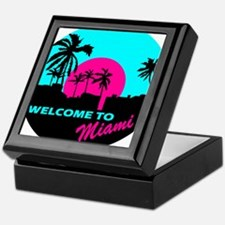 Welcome to Miami Keepsake Box