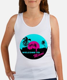 Welcome to Miami Women's Tank Top