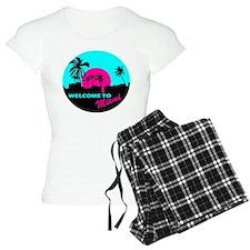 Welcome to Miami Pajamas