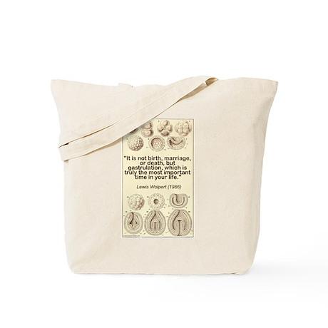 Gastrulation Lewis Tote Bag