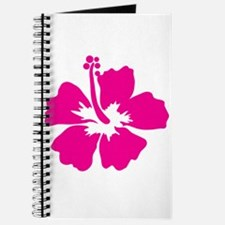 Hot Pink Hibiscus Flower Journal