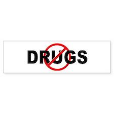 Anti / No Drugs Car Sticker