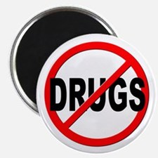 Anti / No Drugs Magnet