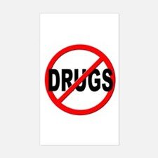Anti / No Drugs Decal
