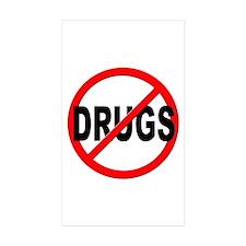 Anti / No Drugs Decal