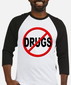 Anti / No Drugs Baseball Jersey