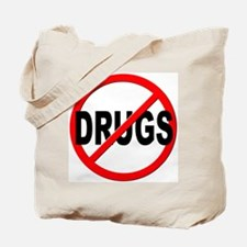 Anti / No Drugs Tote Bag