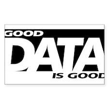 Good Data Decal