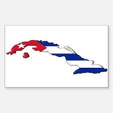 Island Flag Sticker (Rectangle)